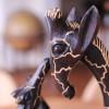 Escultura de girafa