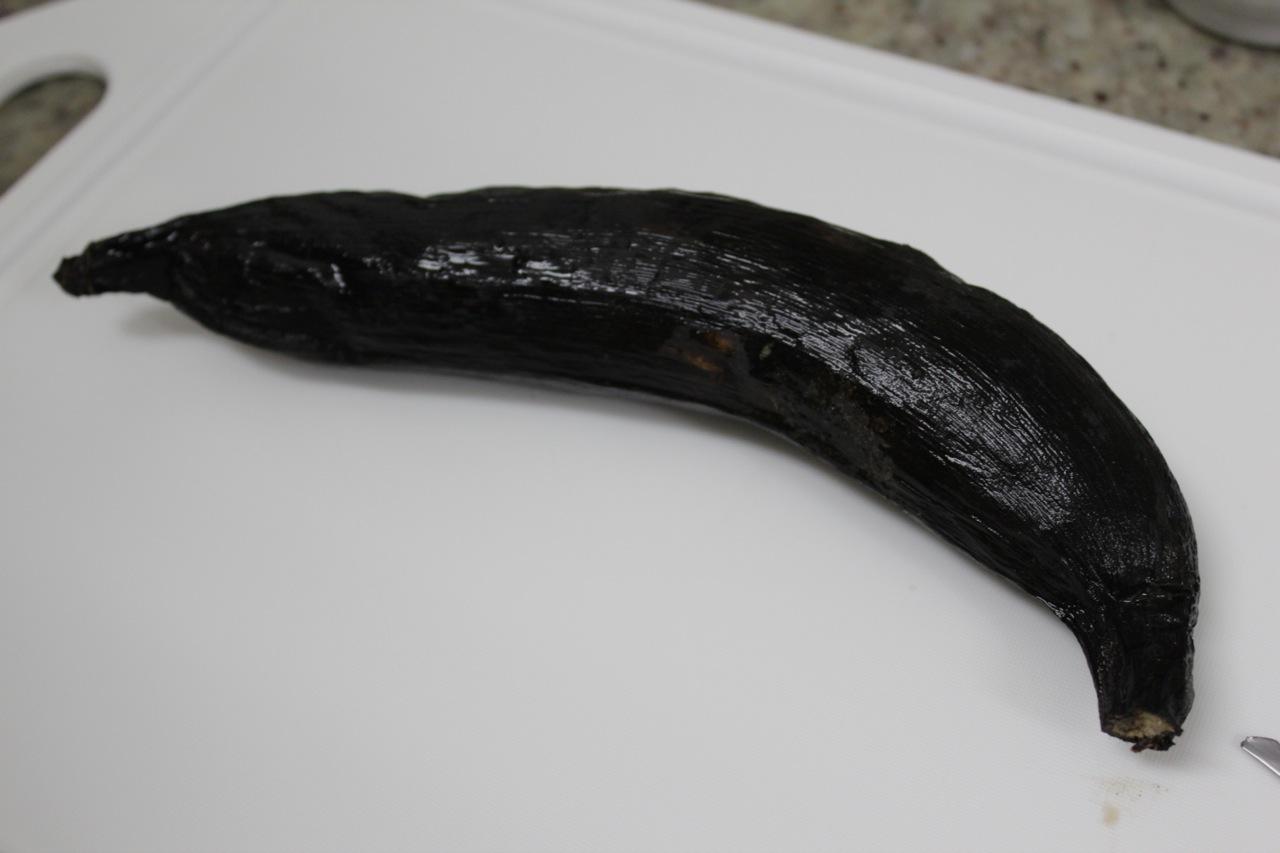 Sua banana deve estar assim