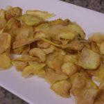 Batata doce crocante
