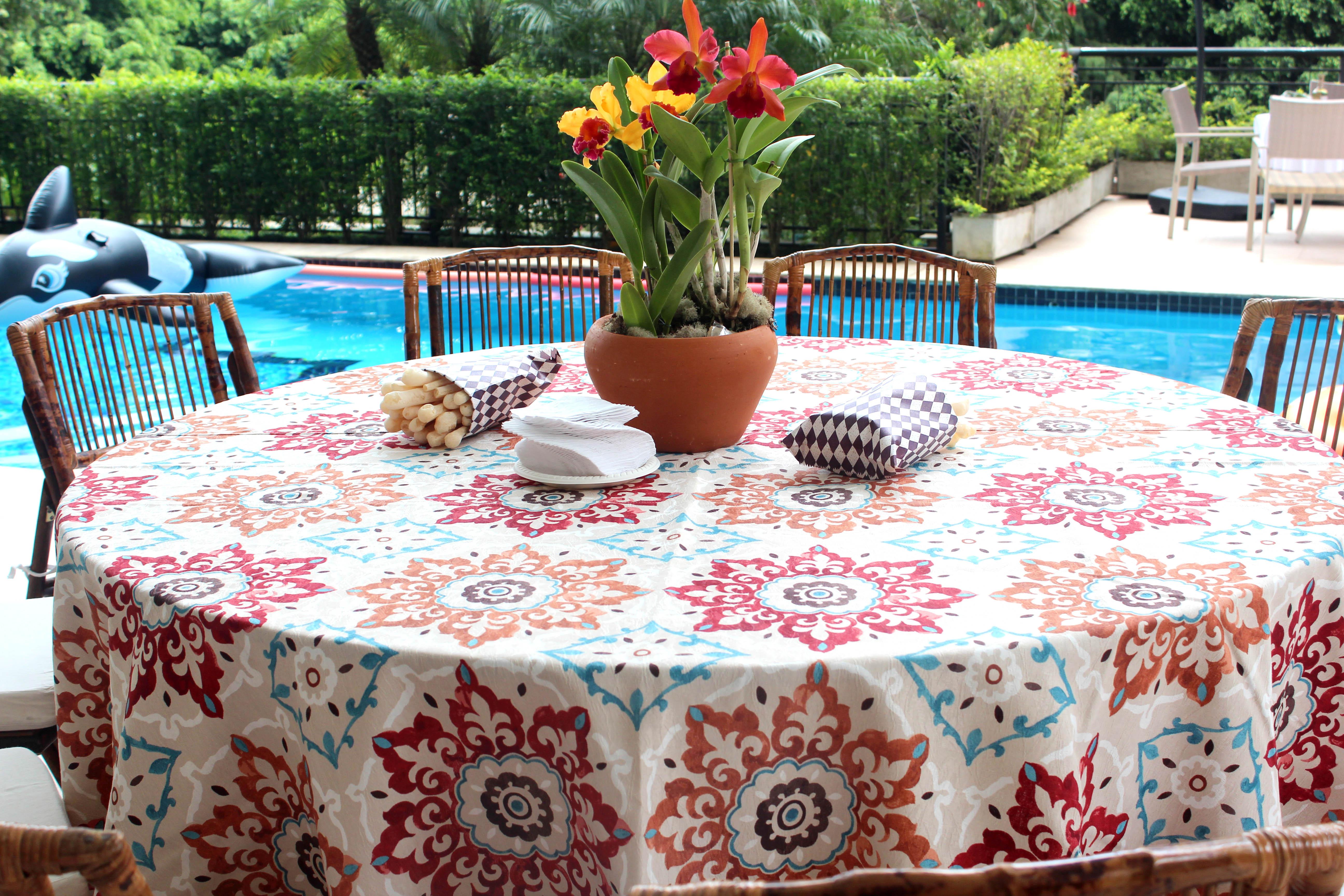Excepcional Decoração de um churrasco na beira da piscina – Segredos da Tia Emília CR98