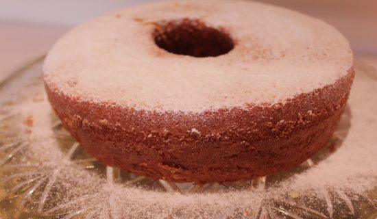 Você pode polvilhar com açúcar refinado