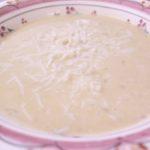 Risoto de queijo de cabra