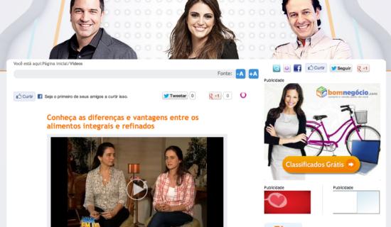 2012-10-03 Programa Hoje Em Dia - TV Record