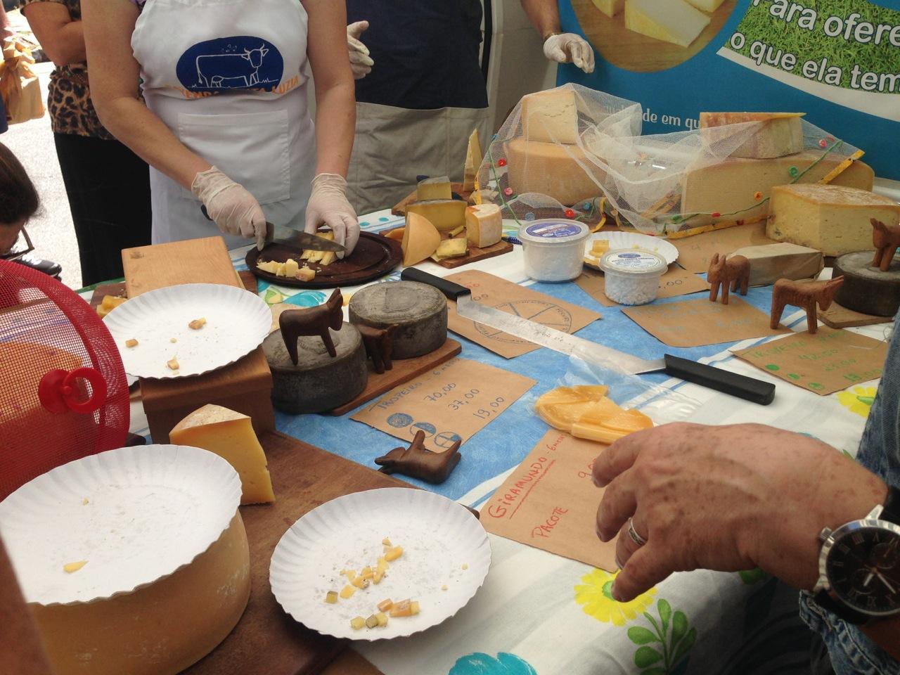 Degustação da fazenda Santa Luzia
