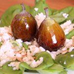 Salada com figos do amor